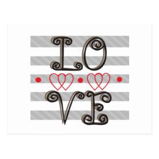 Love Infinity Times Love Infinity Postcard