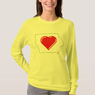 Love Iowa t-shirt