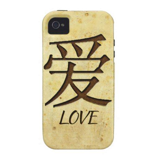 Love iPhone 4/4S Case Mate Tough