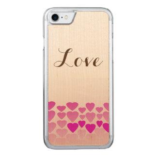 Love iPhone 7 Slim Cherry Wood Case