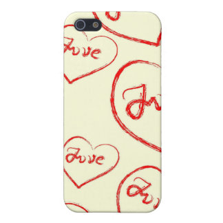 Love iPhone Case 4 iPhone 5 Cover