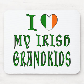 Love Irish Grandkids Mouse Pad