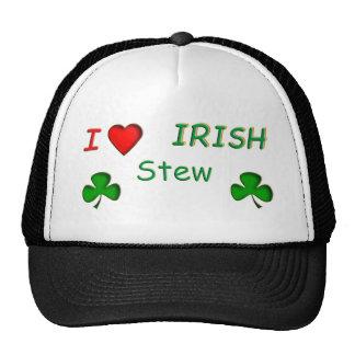 Love Irish Stew Trucker Hats