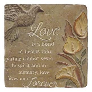 Love is a Bond Trivet