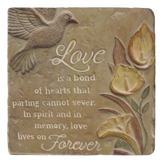 Love is a Bond Trivet