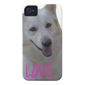Love is a four legged word iPhone 4 Case-Mate case