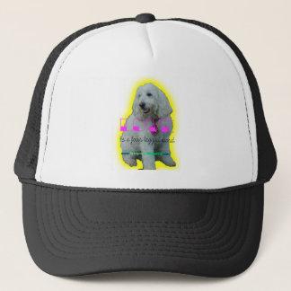 Love is a four legged word trucker hat