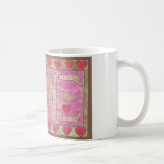 Love is a four letter word mug