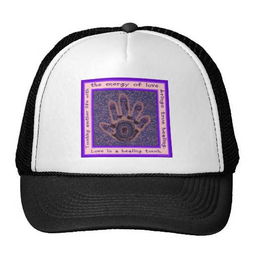 Love is a Healing Touch Hats