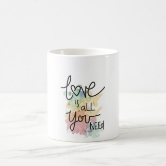 LOVE IS ALL YOU NEED COFFEE MUG
