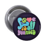 Love is All You Need II 6 Cm Round Badge