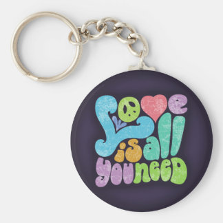 Love is All You Need II Keychains