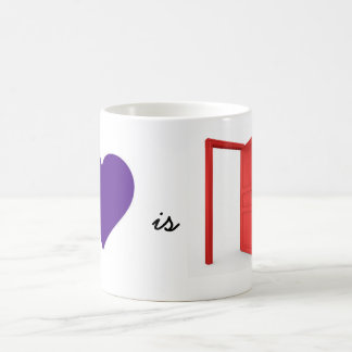 Love is An Open Door Mug