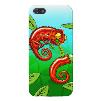 love is blind - chameleon fail iPhone 5 cover