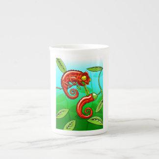 love is blind - chameleon fail tea cup
