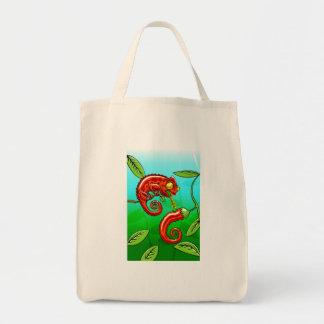 love is blind - chameleon fail tote bag