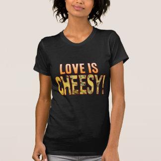 Love Is Blue Cheesy T-Shirt