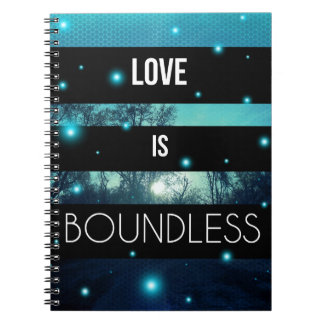 Love is Boundless Spiral Notebook | Journal