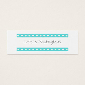 Love Is Contagious Acts of Kindness Card