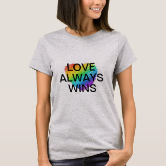 Love Is Equal Celebrate Marriage Equality T-Shirt