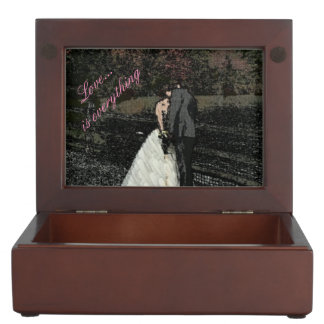 Love is everything keepsake box