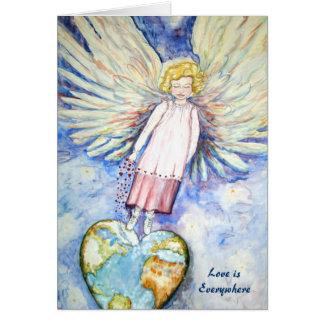 Love is Everywhere Card