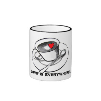 Love is everywhere! Mug