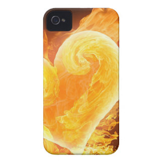 Love Is Fire iPhone 4 Cases