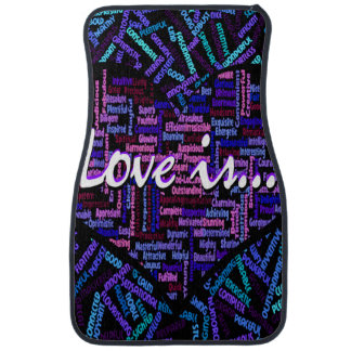 Love is... floor mat