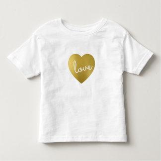 LOVE IS GOLDEN TODDLER T-Shirt