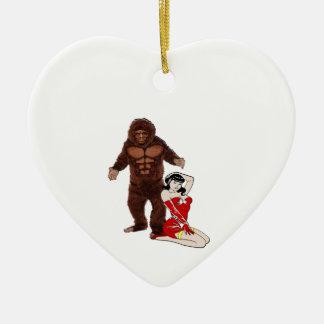 Love is Grand Ceramic Ornament