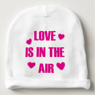 Love is in the Air Baby Beanie