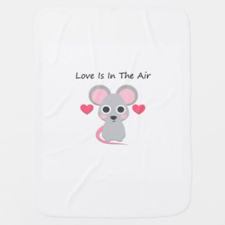Love Is In The Air Baby Blanket