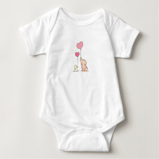 Love is in the air baby bodysuit