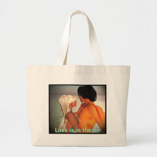 Love is in the Air Canvas Bag