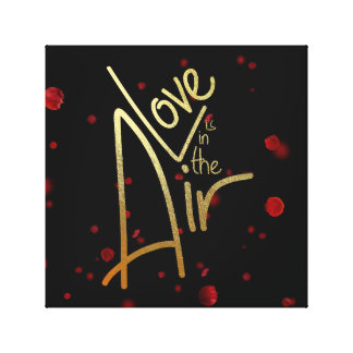 Love is in the air.... Canvas Art