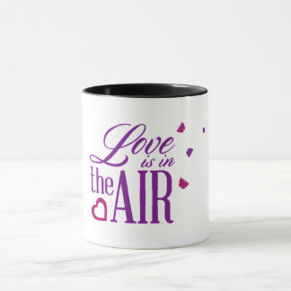 'Love is in the air' Combo Mug