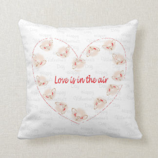 Love is in the air cushion