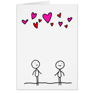 Love is in the Air for Two Card