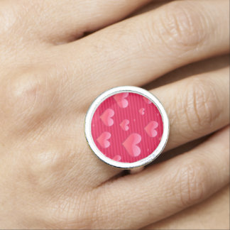 Love is in the Air Hearts Valentine Jewelry Rings