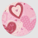 Love Is In The Air Sticker/Seal