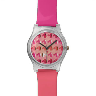 Love is in the Air Unicorn Wrist Watches