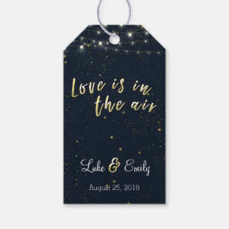 Love is in the Air Wedding Favor Gift Tags