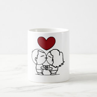 Love IS in to air - the love is in air Coffee Mug
