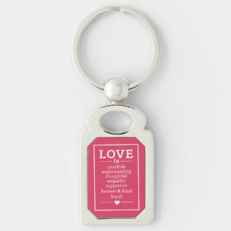 Love Is … key chain