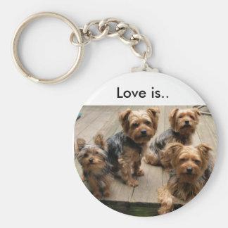 Love is.. key ring