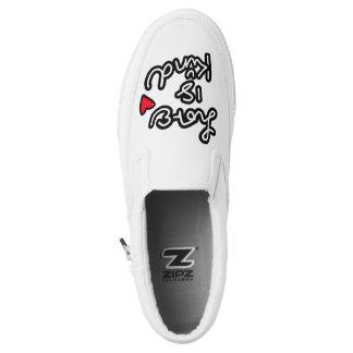 Love Is Kind Slip on Sneaker Printed Shoes