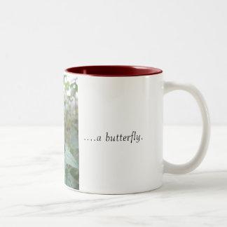 Love is like a butterfly mug