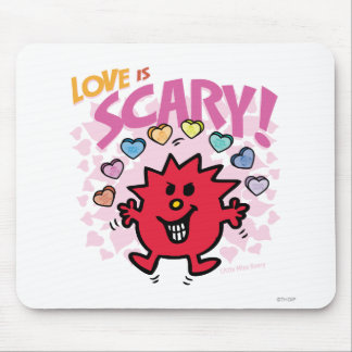 Love Is Little Miss Scary Mouse Pad