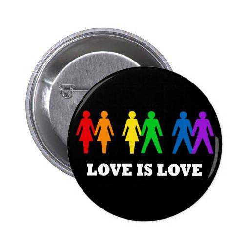 Love is Love Pinback Button